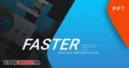 دانلود رایگان قالب پاورپوینت ورزشی Faster – Sport Powerpoint Template