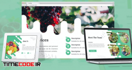 دانلود قالب گوگل اسلاید کاشت و پرورش میوه + پاورپوینت Fructus – Fruits Google Slides Template