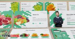 دانلود قالب پاورپوینت کاشت و پرورش میوه Fructus – Fruits Powerpoint Template