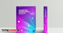 دانلود موکاپ کاور کتاب  Geometric Cover Book Mockup