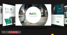 دانلود قالب گوگل اسلاید + پاورپوینت Huddle – Google Slides Template