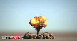 دانلود فوتیج آلفا انفجار Huge Nuclear Explosion