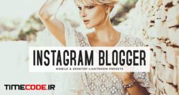 دانلود اکشن و پریست لایت روم Instagram Blogger Lightroom Presets Pack