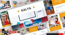 دانلود قالب پاورپوینت دانش آموزی Kayla – Kindergarten PowerPoint Template