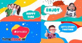 دانلود پروژه آماده افتر افکت : اسلایدشو کودک Kids Slideshow