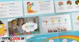 دانلود قالب پاورپوینت فانتزی دانش آموزی Kinder – Daycare Powerpoint Template