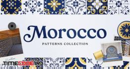 دانلود 32 پترن کاشی سنتی Moroccan Patterns And Ornaments