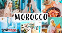 دانلود اکشن فتوشاپ و پریست لایت روم Morocco Mobile & Desktop Lightroom Presets