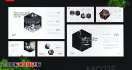 دانلود قالب پاورپوینت سخنرانی Motif – Motivational Speaker Powerpoint Template
