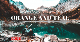 دانلود اکشن و پریست لایت روم Orange And Teal Mobile & Desktop Lightroom Presets