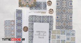 دانلود پترن کاشی Oriental Authentic Tiles