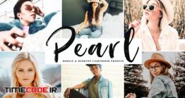 دانلود اکشن فتوشاپ و پریست لایت روم Pearl Mobile & Desktop Lightroom Presets
