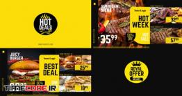 دانلود پروژه آماده افتر افکت : تیزر تبلیغاتی رستوران Royal Offer – Food Menu Promo