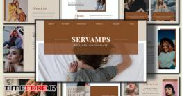 دانلود قالب آماده پاورپوینت فشن  SERVAMPS Fashion Minimal – Powerpoint
