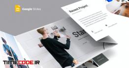 دانلود رایگان قالب پاورپوینت + گوگل اسلاید Startup Template