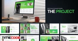 دانلود قالب پاورپوینت حسابداری The Project Powerpoint Presentation