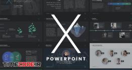 دانلود قالب آماده پاورپوینت The X Note – Powerpoint Template