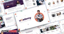 دانلود قالب پاورپوینت معرفی دوره های آموزشی دانش آموزان UCademy – Education Course PowerPoint Template