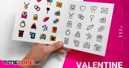دانلود آیکون ولنتاین Valentine – Icon