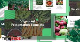 دانلود تم پاورپوینت کشاورزی  Vegeplant – Farm Powerpoint Template