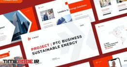 دانلود قالب پاورپوینت مهندسی VINDEX – Business Pitch Powerpoint Template