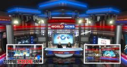 دانلود پروژه آماده افتر افکت : استودیو مجازی Virtual Studio