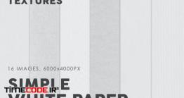 دانلود تکسچر کاغذ سفید ساده  White Simple Paper Textures
