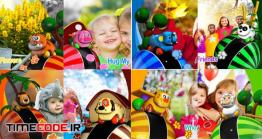 دانلود پروژه آماده افتر افکت : اسلایدشو اسباب بازی ها Animal Toys Slideshow