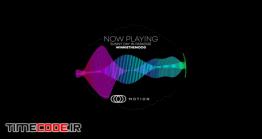 دانلود پروژه آماده افتر افکت : اکولایزر Audio LED Meter
