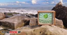 دانلود پروژه آماده افتر افکت : وله تلویزیون قدیمی در ساحل Beach Series Vs Retro TV Pack