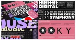 دانلود پروژه آماده افتر افکت : تایپوگرافی Big Typography Pack