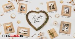دانلود پروژه آماده افتر افکت :  آلبوم عکس Bright Love