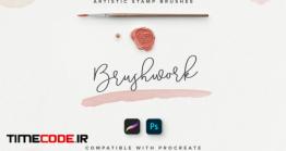 دانلود براش فتوشاپ و پروکریت Brushwork: Artistic Procreate & Photoshop Brushes