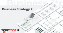 دانلود قالب پاور پوینت استراتژی کسب و کار Business Strategy Two PowerPoint Template