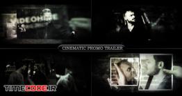 دانلود پروژه آماده افتر افکت : اسلایدشو نگاتیو Cinematic Promo Trailer