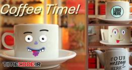 دانلود پروژه آماده افتر افکت : لوگو موشن کافی شاپ Coffee Time