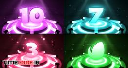 دانلود پروژه آماده افتر افکت : شمارش معکوس Colorful Countdown