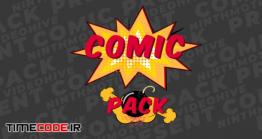 دانلود پروژه آماده افتر افکت : پک کمیک بوک Comic Pack