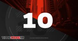 دانلود پروژه آماده پریمیر : شمارش معکوس Countdown – Media Opener