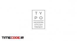 دانلود پروژه آماده فاینال کات پرو : تایپوگرافی Elegant Black & White Typo