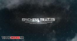 دانلود پروژه آماده افتر افکت : تریلر Epicness Trailer