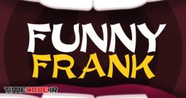 دانلود فونت انگلیسی فانتزی  Funny Frank – An Energetic And Quirky Typeface