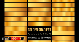 دانلود مجموعه پس زمینه گرادینت Golden Gradient Collection