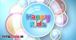 دانلود پروژه آماده افتر افکت : اسلایدشو کودک Kids Intro