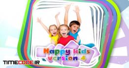 دانلود پروژه آماده افتر افکت : اسلایدشو کودک Kids Opener