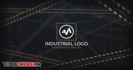 دانلود پروژه آماده افتر افکت : لوگو موشن Industrial Logo Reveal