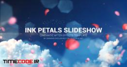 دانلود پروژه آماده افتر افکت : اسلایدشو عروسی Ink Petal Slideshow