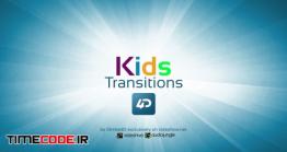 دانلود پروژه آماده افتر افکت : ترنزیشن کودک Kids Transitions