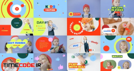 دانلود پروژه آماده افتر افکت : کلیپ کودک Kid's YouTube Vlog
