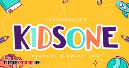 دانلود فونت انگلیسی فانتزی  Kidsone QR